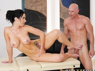 Free Amateur Milf Sex Mpegs Lonely brunette MILF Jayden James is oiled & fucked by masseur