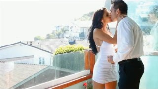 Mom puremature big romance beautiful boobs balcony shot cum