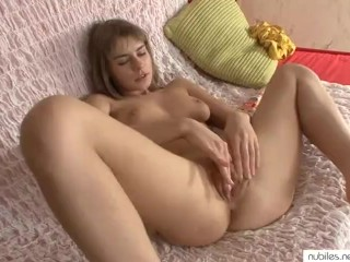 Beautiful beginner physique shaking orgasm