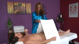 big cumshot at massage parlor