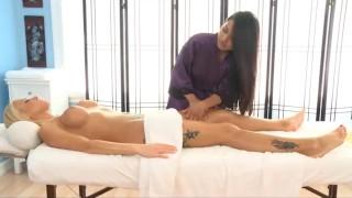 Lana Violet Massages a Country Girl  allgirlmassage petite big boobs natural tits fake tits big tits small tits busty