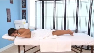 Kendall Carson Gets Ember James Oiled Up