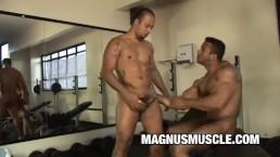 Gym Buddies Douglas Masters and Matheus Axell Fucking