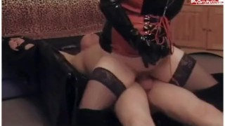 Slave domination Cock licking
