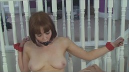Bondage Slut Cumming Insertion