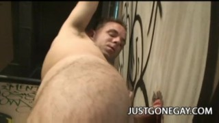Blowjob glory stud hole straight gets latino gagging