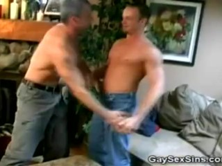 Men Getting It On The Couch