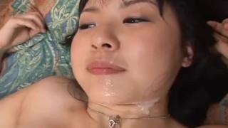 Beautiful Tsubomi face covered in cum!  japanese closeup hardcore facial avidolz masturbation cumshot asian blowjob schoolgirl