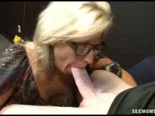 Dirty Talking Dirty Fuck Movies Mom pays off her daughters debt with a fat blowjob