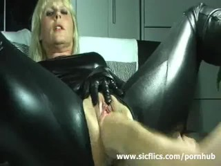 Merciless fisting of a lecherous housewife