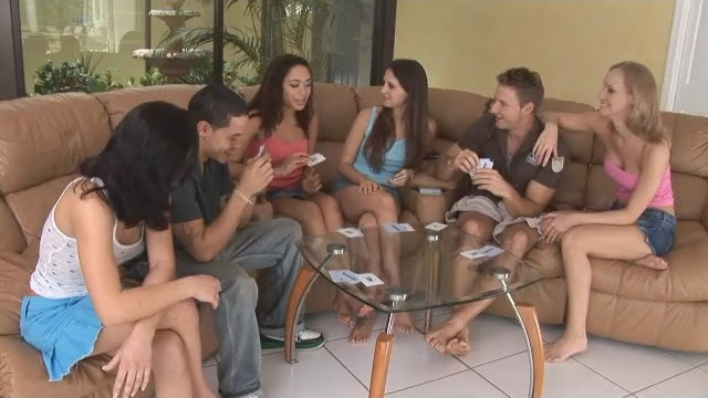 Free strip poker for pc A group of amateurs playing strip poker and fucking each other
