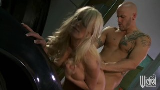 On her hood blonde milf the car stormy daniels bigtit fucked of wicked big