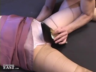 Uncensored Japanese Erotic Fetish Sex Pantyhose Play Pt 3