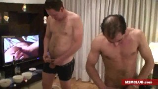 Men by serviced straight guys older m2mclub.com group