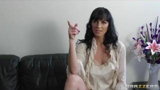 Horny big-tit MILF Lena Franks fucks her daughter's boyfriend porno