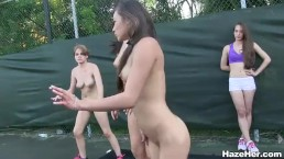 outdoor all girl college fuck fest