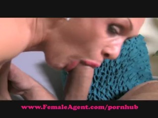 Amateur Homemade Porno Video FemaleAgent. Big cock casting