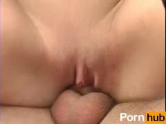 Busty gf ball sucking