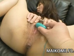 Japanese granny Yukiko Moritani eager for sexual pleasure