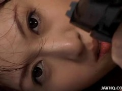 Cute Arisa Kanno Hairy Puss Fuck With Cum Swallow