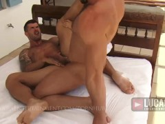 Muscle Jocks Jessy Ares and Adam Killian Fuck Ass
