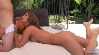 Petite Presley Hart hard pussy pounding