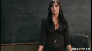 SEXY Asian French teacher Katsuni punishes two slutty students