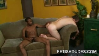 Hasty stud getting his ass spank Big hardcore