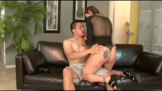 Preview 5 of Ass Fucking His Wifes Big Titted Mom