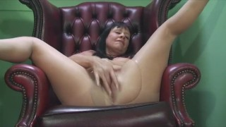 sexy misha fucked by two pantyhose layers tease