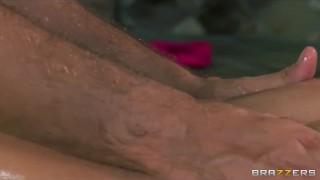 Preview 4 of Big-booty yoga student Jada Stevens gets a sensual massage