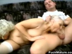 Grannies Lovin That Cock