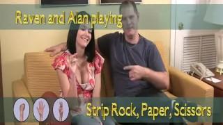 Raven and Alan Play Strip Rock Paper Scissors