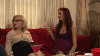 Two Lesbian MILFs Grind Pussy Til They Cum Alisonfire ginger