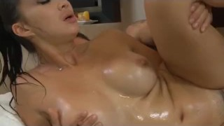 Big Tit Asian Katsuni Nuru Massage and Fuck  large breasts french asian cumshot skinny busty oil orgasm nuru fucked big boobs small ass nuru massage huge tits