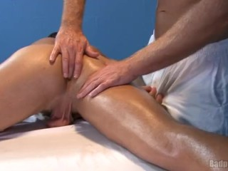 Hot ass fingering massage