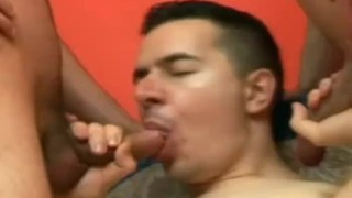 Horny Men Threesome