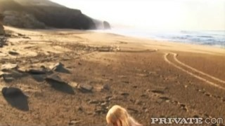 Private: Alexis Fucks on the Beach