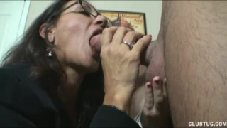 Masturbate lets together tits wife