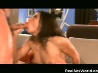 Sweetie Sucks Cock And Gets Fucked