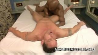 Black Muscle dude Edu Having Gay Sex With Jhonn Martin