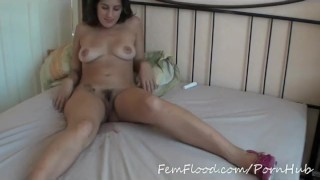 young black-haired German women masturbating in the sex shop