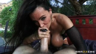 Big-tit MILF Lisa Ann dreams about bouncing her ass on hard cock Array dick
