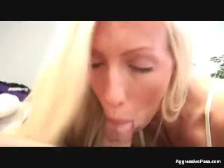 Punish Brutal Porn Busty Blonde Beauty Cassie Demos A Bj, Blowjob Cumshot Pornstar Anal