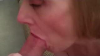 Melanie sucks JJ's cock!