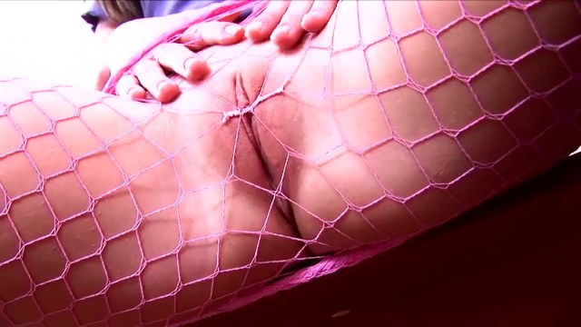 Carla bruni lingerie Petite pigtailed brunette teases and masturbates in fishnet pantyhose