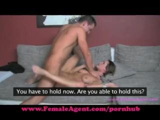 FemaleAgent. Don't cum inside me