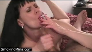 Lady her sucking films husband awesome cock with hot her session amatuer hand