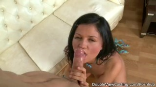 Isabel trying anal sex.