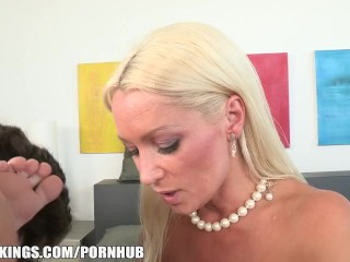 Gauntlet Girl 2 Fucking, SEXY Russian MILF fucks her daughter s BF in the shower